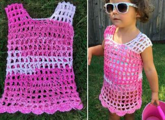 Toddler Swim Cover Crochet Free Pattern