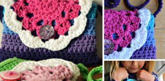 Little Doily Bag Crochet Free Pattern