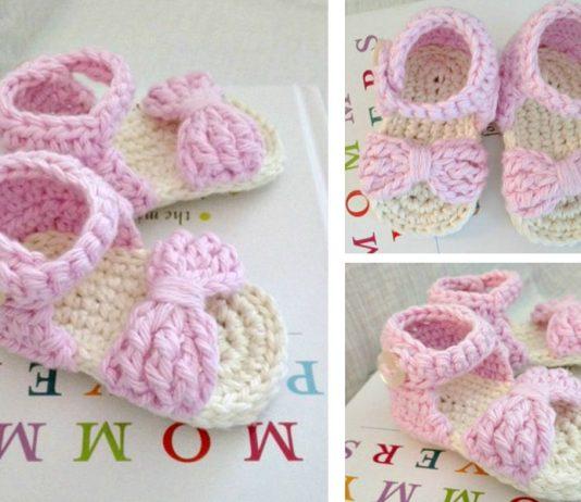 Baby Sandals Crochet Free Pattern