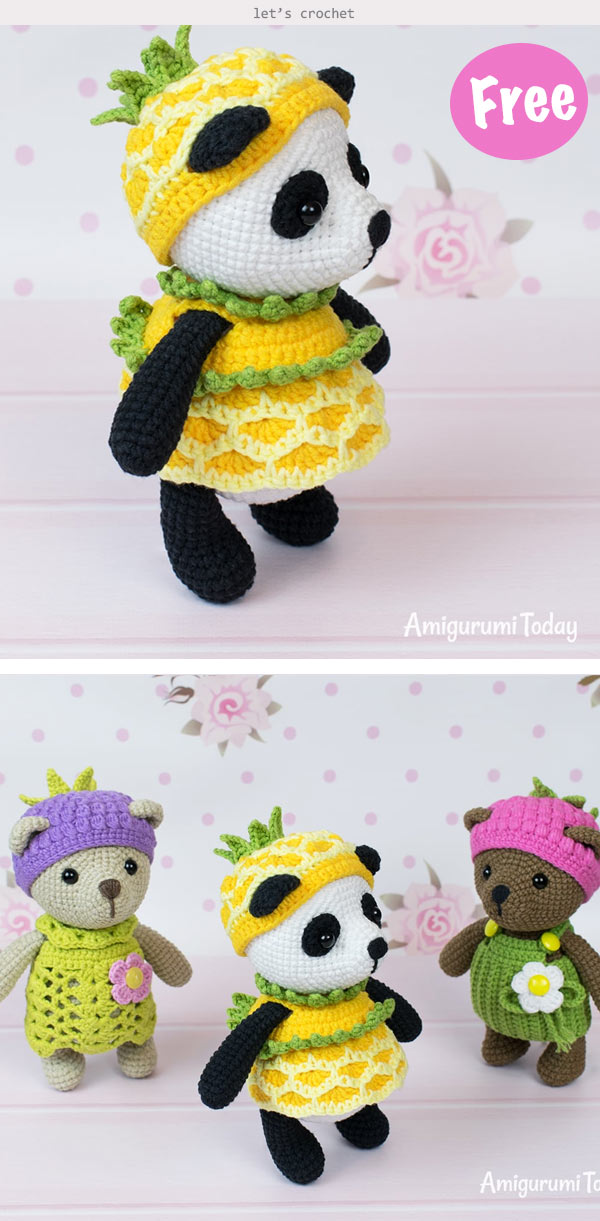 Panda – Awesome Crochet Patterns | 1221x600