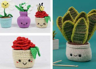 Crochet an Amigurumi Snake Plant Free Pattern