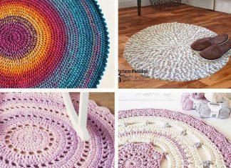 No Wool Left Behind Rug Crochet Free Pattern