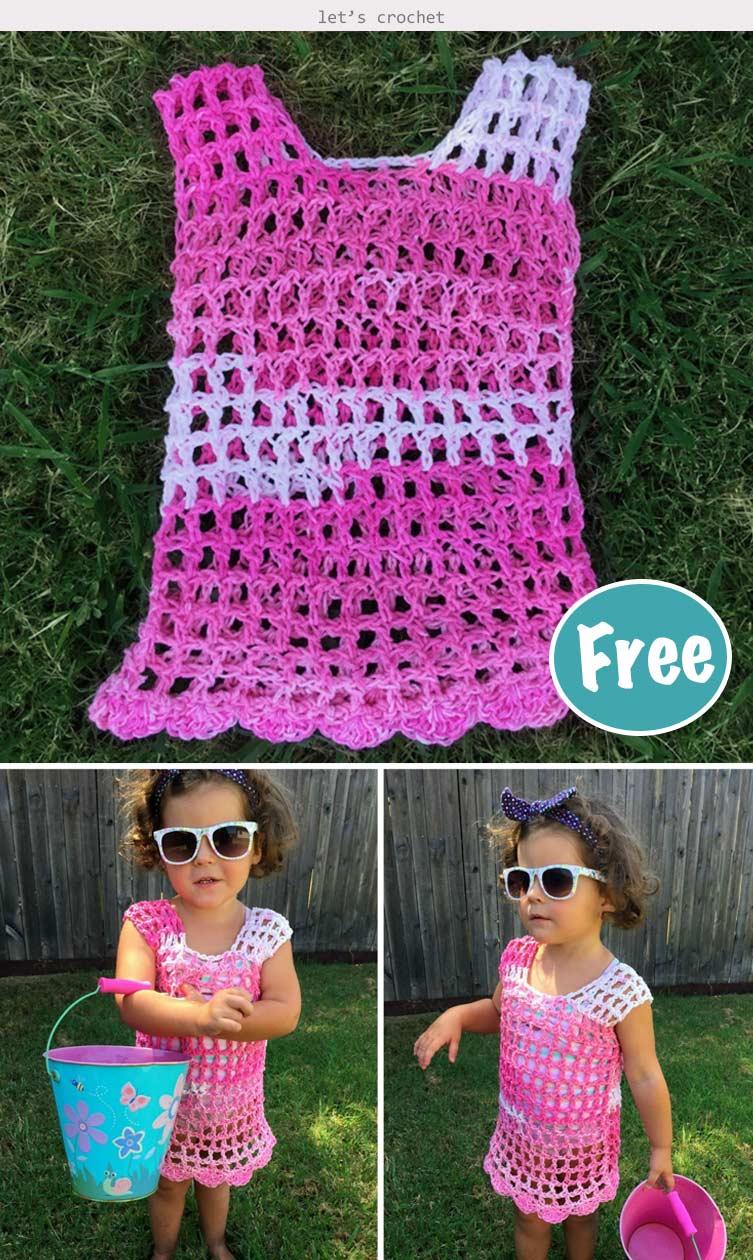 Toddler Swim Cover Crochet Free Pattern