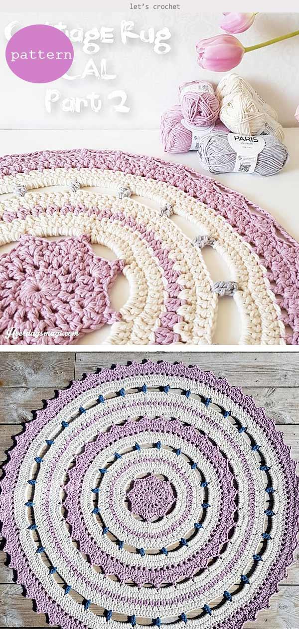 Decorative Rug Crochet Pattern