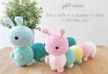 The Little Caterpillar Crochet Free Pattern