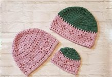 Vintage Vibes Beanie Hat Crochet Free Pattern