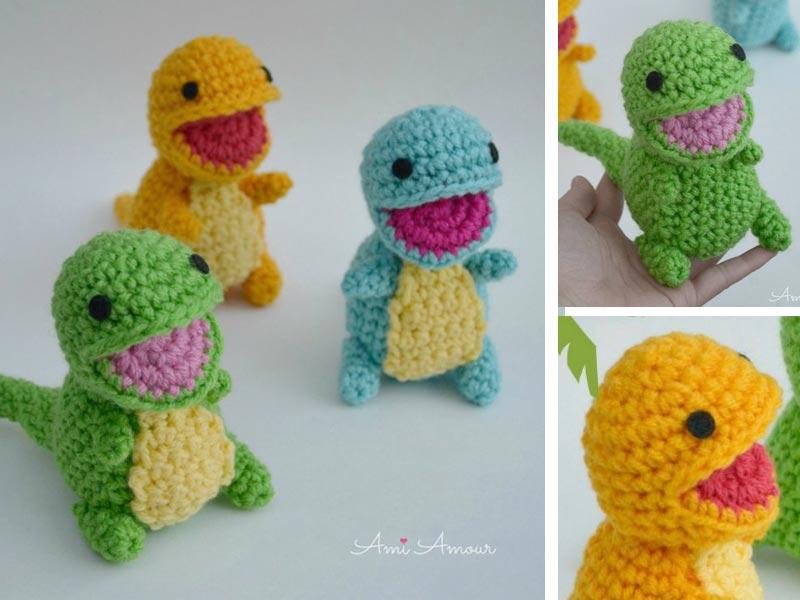 Pteranodon - amigurumi dinosaur crochet pattern : PlanetJune Shop ...   600x800
