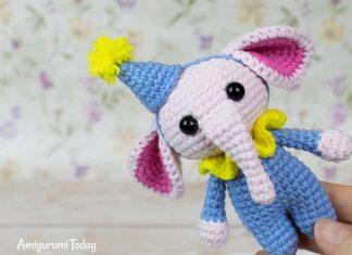 Tiny Elephant Amigurumi Free Crochet Pattern