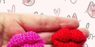 Kiss Crochet Free Pattern