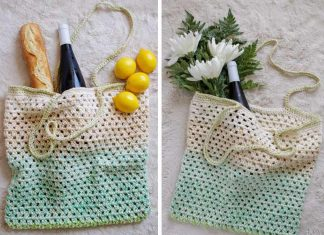 Simple Market Bag Free Crochet Pattern