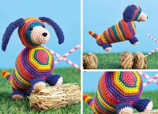 Sausage Dog Crochet Free Pattern
