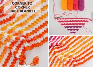 Corner to Corner Baby Blanket Free Crochet Pattern