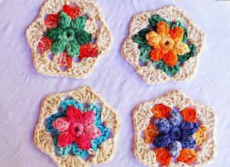 Summer Inspiration Flower Free Crochet Pattern