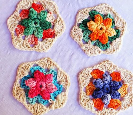 Summer Inspiration Flower Free Crochet Pattern