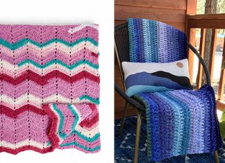 Southwest Skies Blanket Free Crochet Pattern
