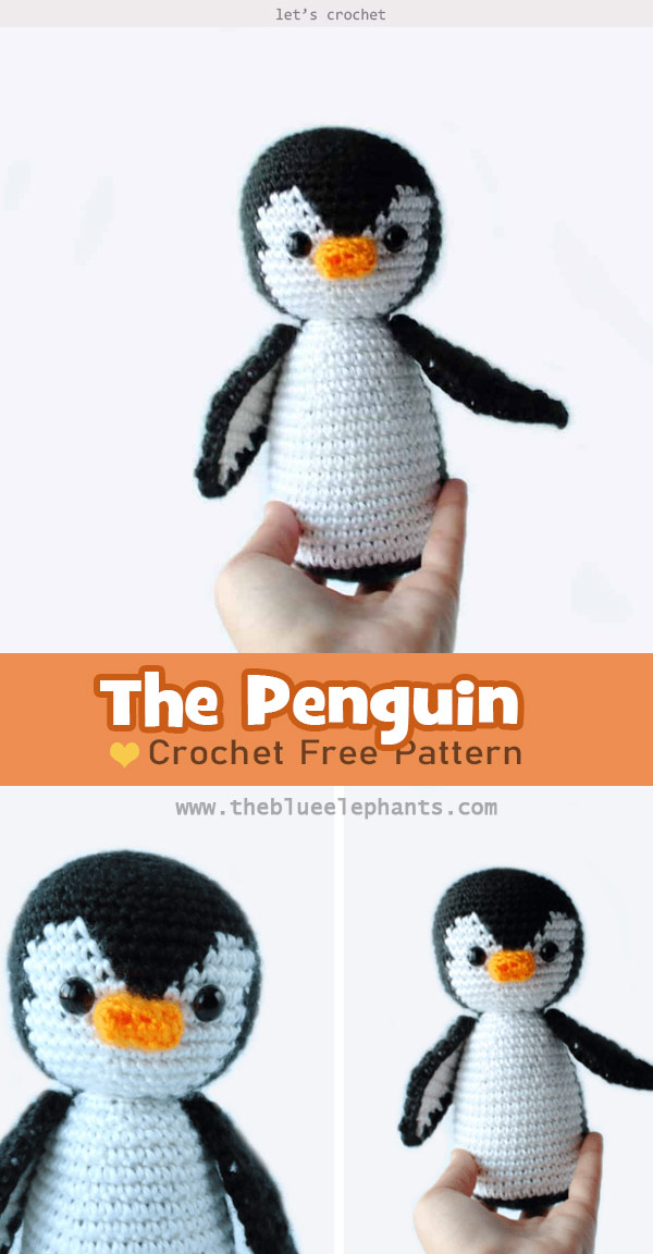 Amigurumi Penelope The Penguin Free Crochet Pattern