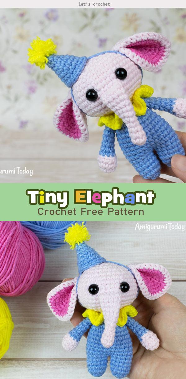 Mini Safari Friends by Amigurumi To Go Free Crochet Patterns Here ... | 1221x600