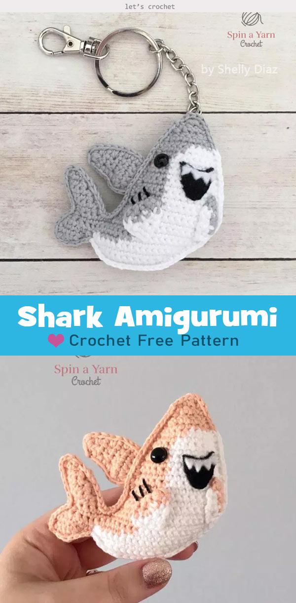 Hammerhead Shark Free Crochet Pattern • Spin a Yarn Crochet | 1221x600