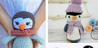 Frosty the Penguin Crochet Free Pattern