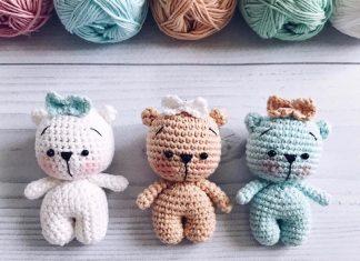 Teddy Bear Crochet Free Pattern