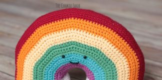 Rainbow Plushy Crochet Free Pattern