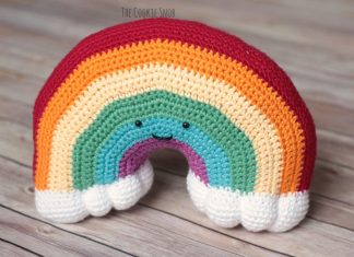 Rainbow Plushy Crochet Free Pattern