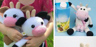Cow Amigurumi Free Crochet Pattern