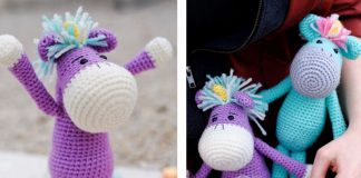 Amigurumi Unicorn Free Crochet Pattern
