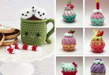 Cupcakes and Hot Cocoa Crochet Free Pattern