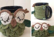 Tea Owl Cozy Crochet Free Pattern