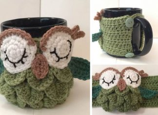 Tea Owl Cozy Crochet Free Pattern