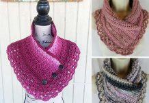 Crochet Lacey Charma Neck Warmer Free Pattern