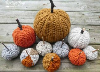 Country Farm Crochet Pumpkins Free Crochet Pattern