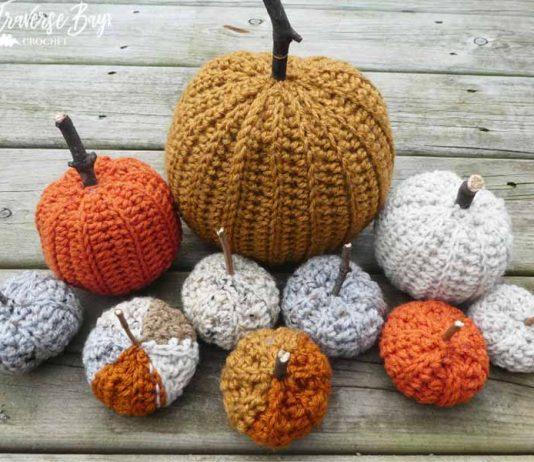 Country Farm Crochet Pumpkins Free Crochet Pattern
