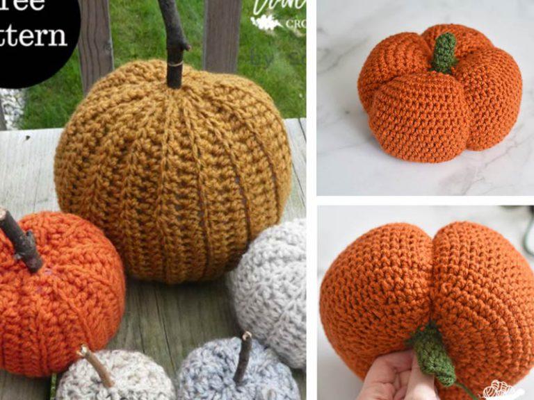 Country Farm Pumpkins Free Crochet Pattern