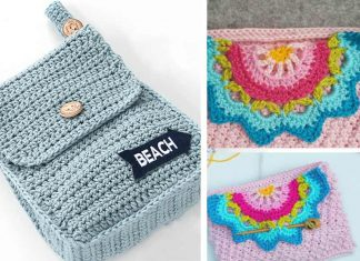 Belt Pouch Free Crochet Pattern