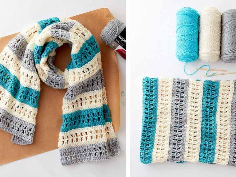 Modern Care Wrap Crochet Free Pattern