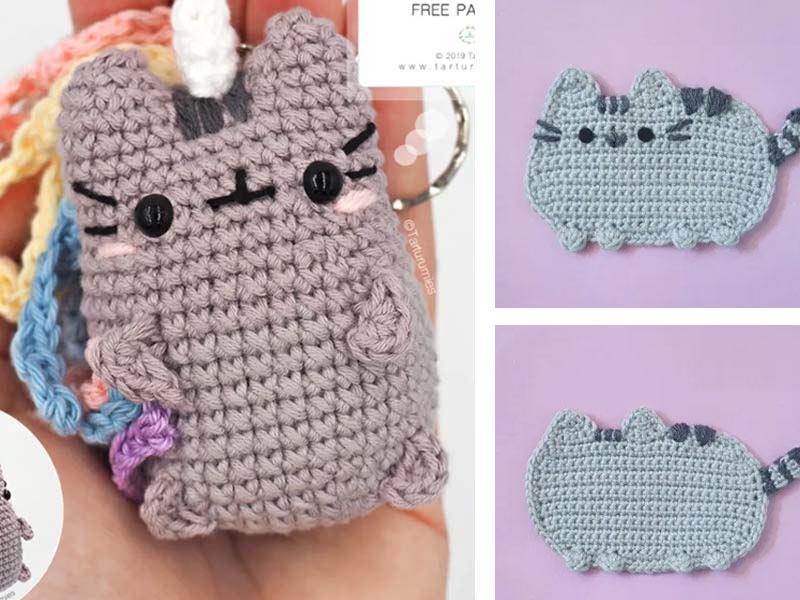 Tutorial Pusheen crochet Amigurumi - YouTube | 600x800