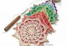 Wispweave Octagon Free Crochet Pattern