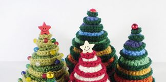 Going Round in Circles Christmas Tree Crochet Free Pattern