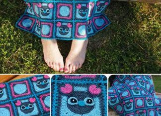 Mickey Blanket Free Crochet Pattern