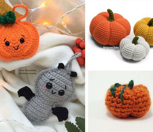 Crochet Halloween pumpkin Free Crochet Pattern