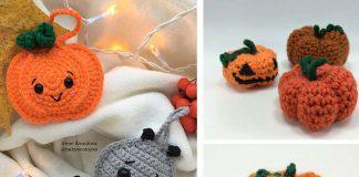 Halloween Pumpkin Toy Crochet Free Pattern