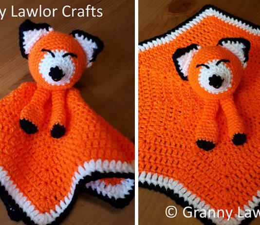 Fox Lovey Crochet Free Pattern