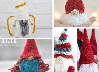 Christmas Puffball Gnome Amigurumi Crochet Free Pattern