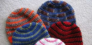 Better Late Than Never Beanies Hat Crochet Free Pattern