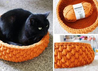 Crochet The Big Little Pet Cat Bed Free Pattern