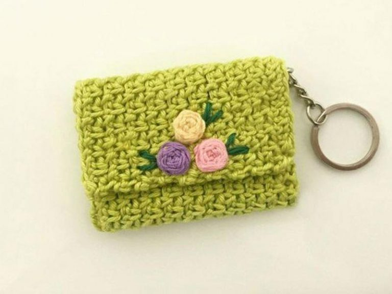 Coin Purse Free Crochet Pattern for Beginners