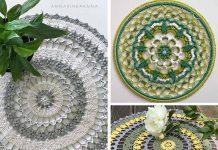 Beauty of Mandala Crochet Free Pattern