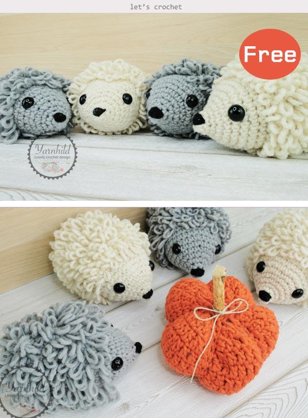 Hedgehog Amigurumi Free Crochet Pattern